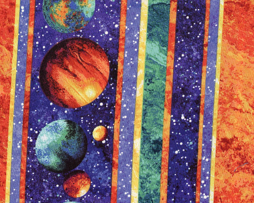 Out of This World Planets - Striped