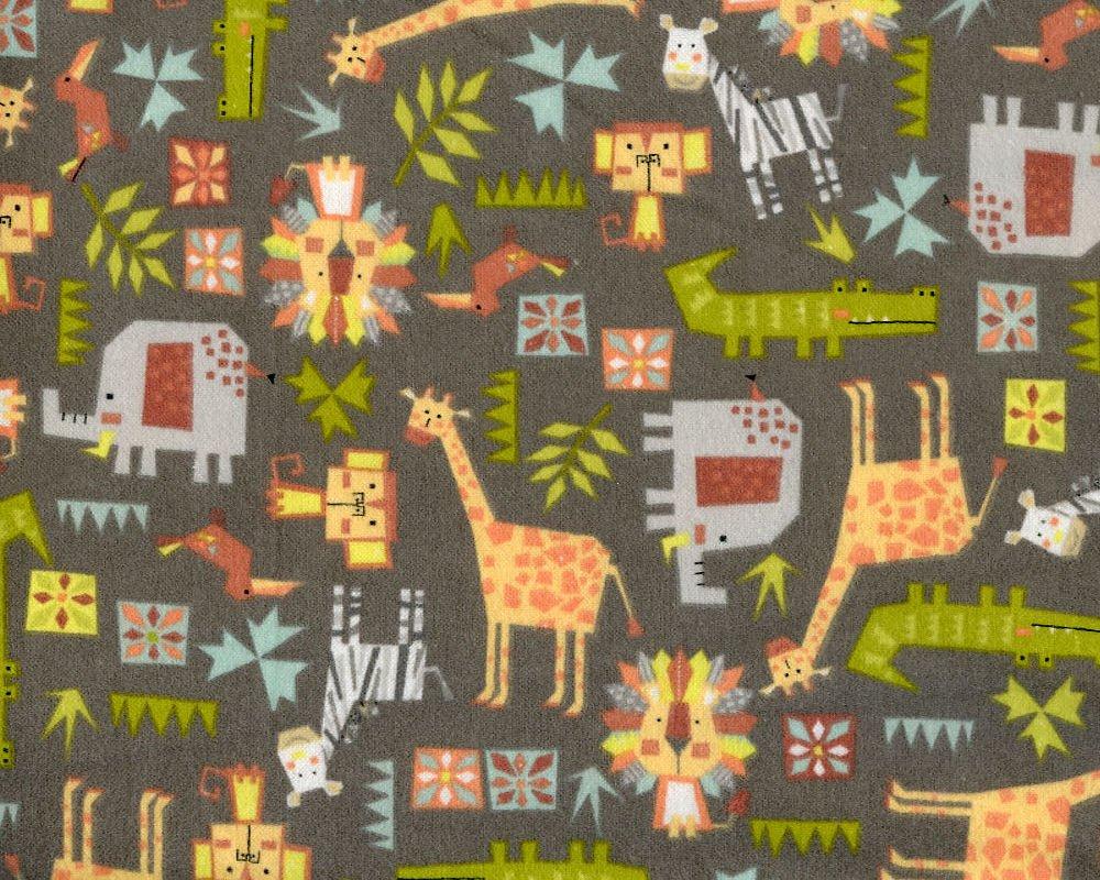 Safari Shuffle (Flannel)