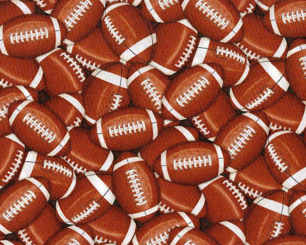 TT Brown Footballs