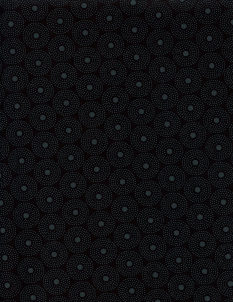 Quilting Illusions - BLK ON BLK