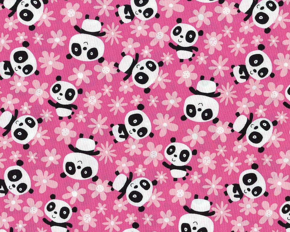Field of Flowers Panda