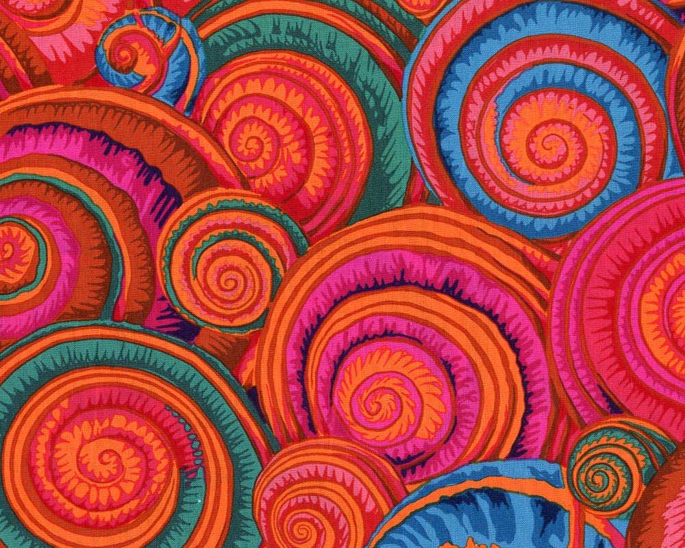 Spiral Shells Orange