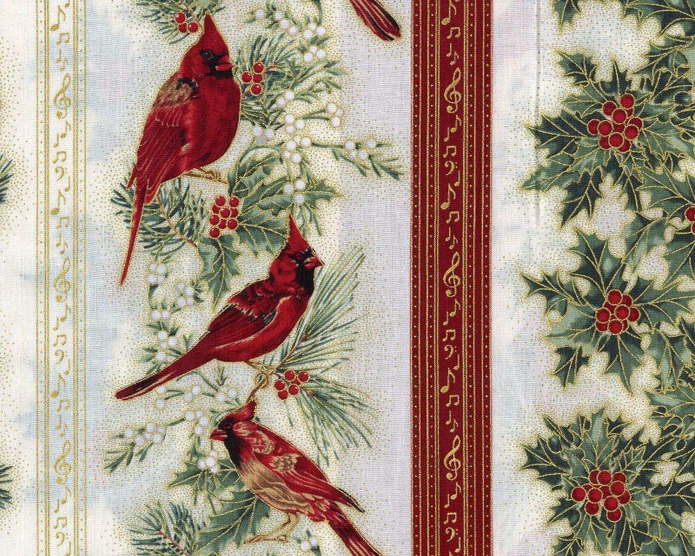 Cardinal Carols - Border