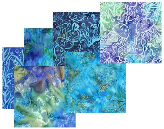 Coral Reef Batiks (Robert Kaufman)