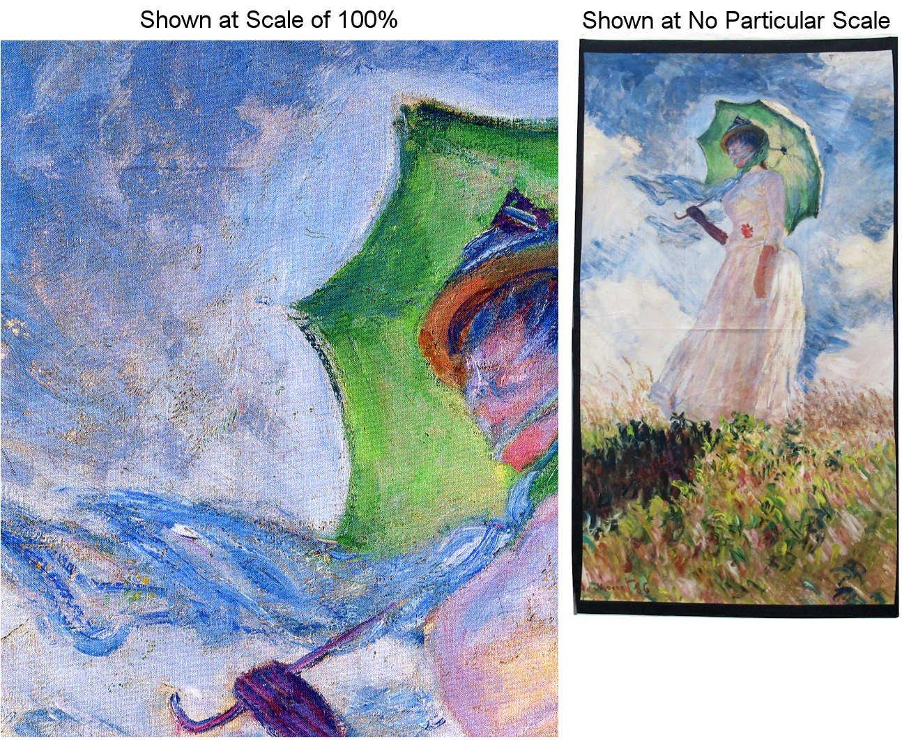 Claude Monet PANEL Woman in Garden