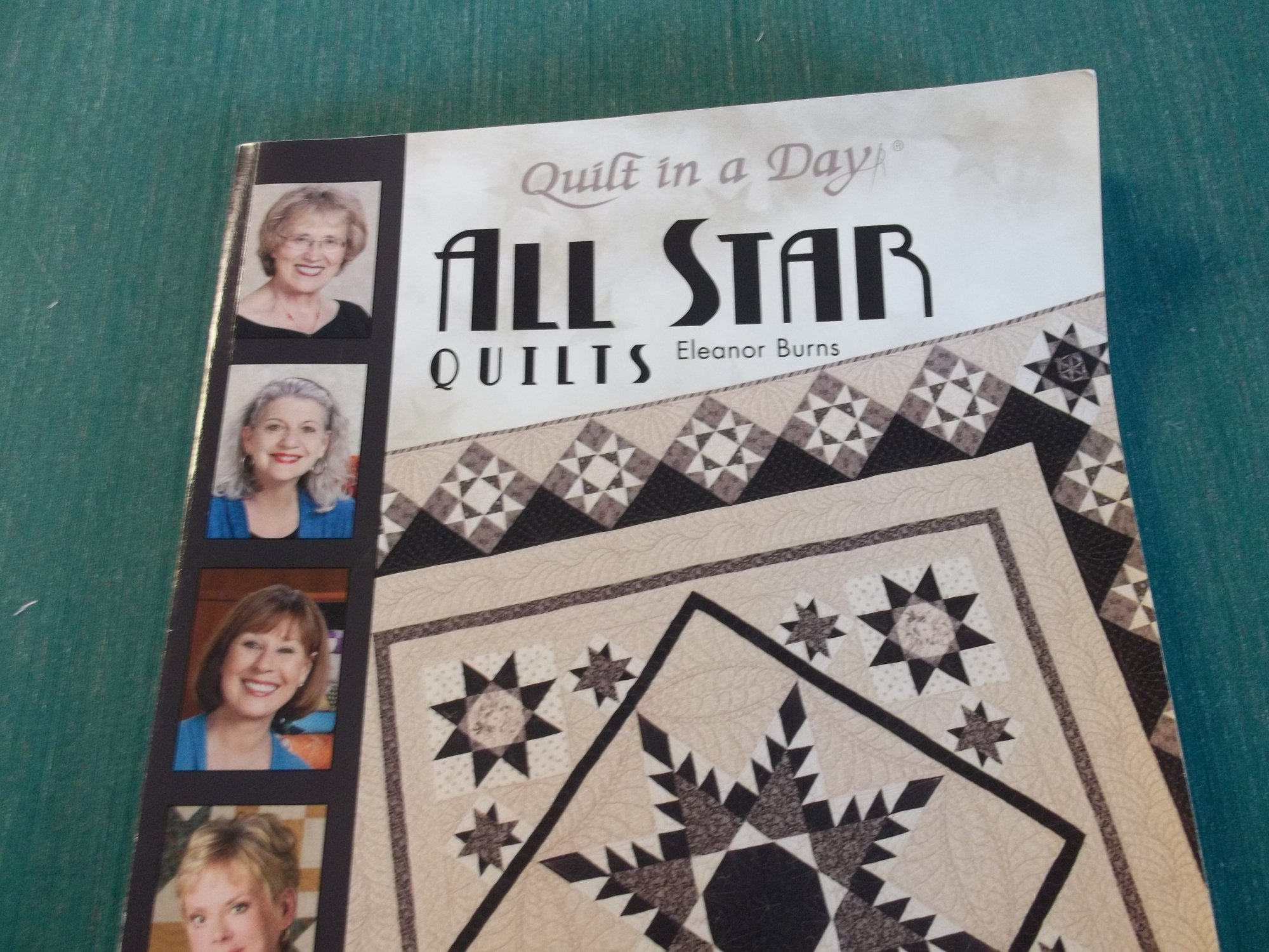 all star quilts Quilt in a day