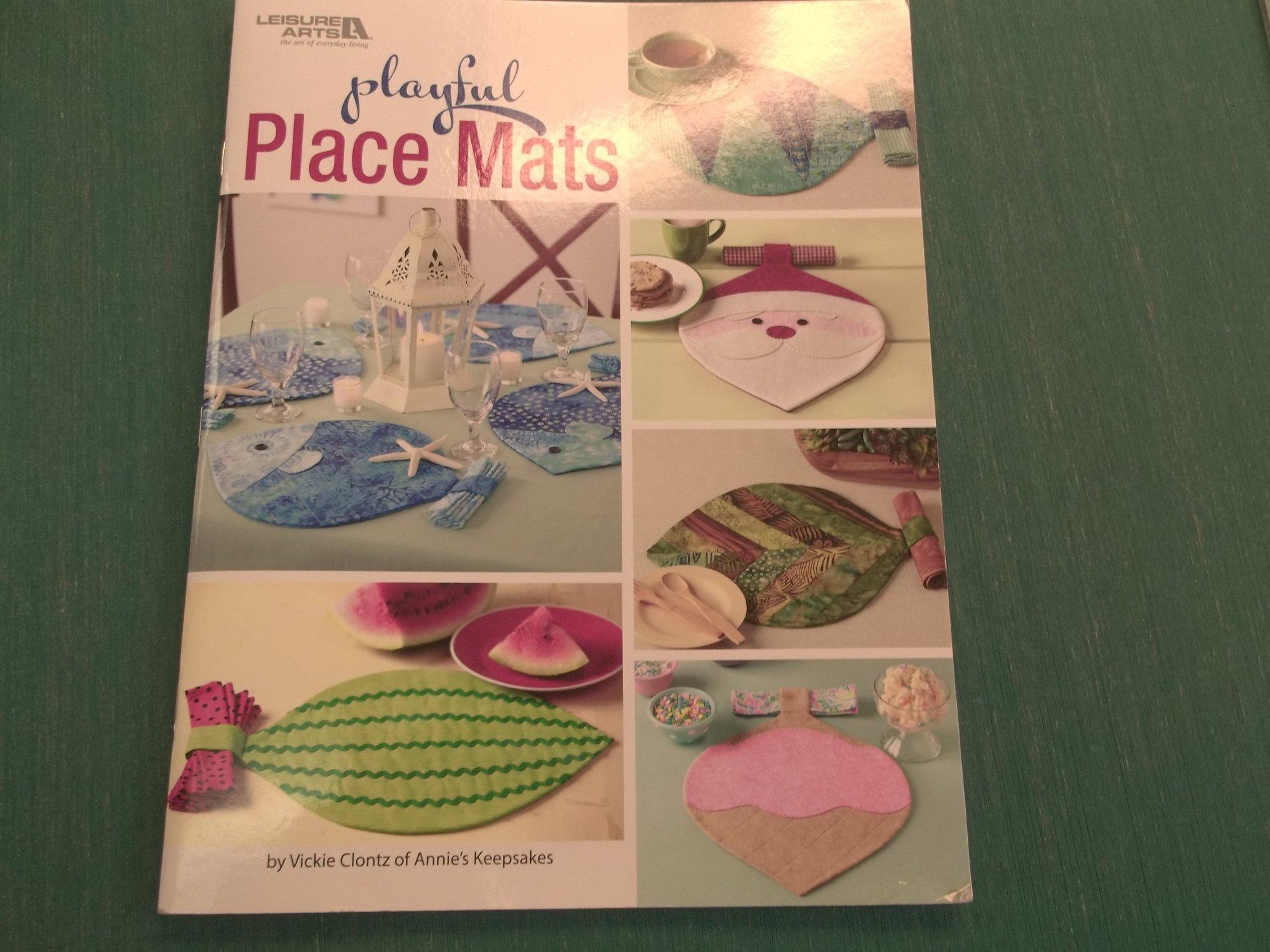 playful placemats