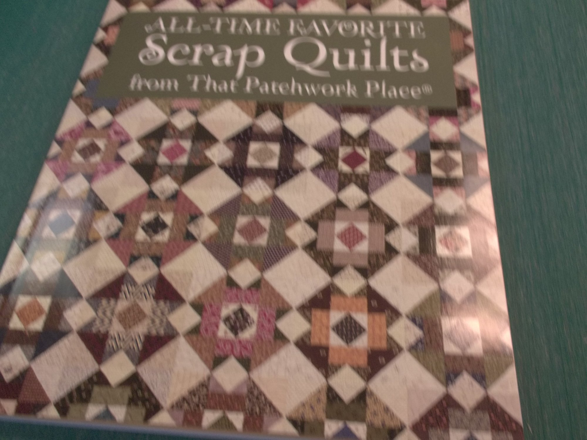 all time favorites scrap quilt from Patchwork Place