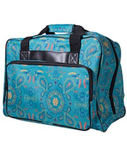 Green Sewing Machine Tote