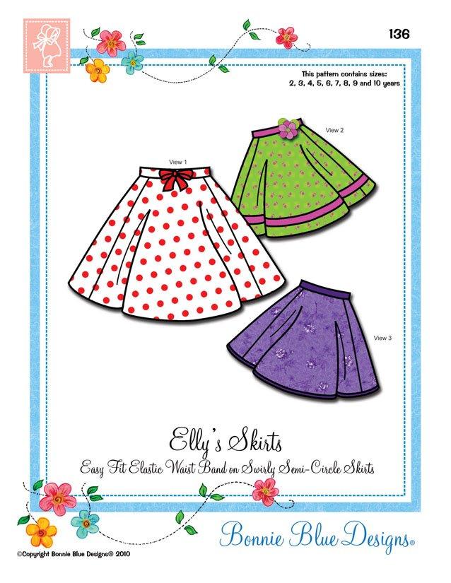 Bonnie Blue Elly's Skirt