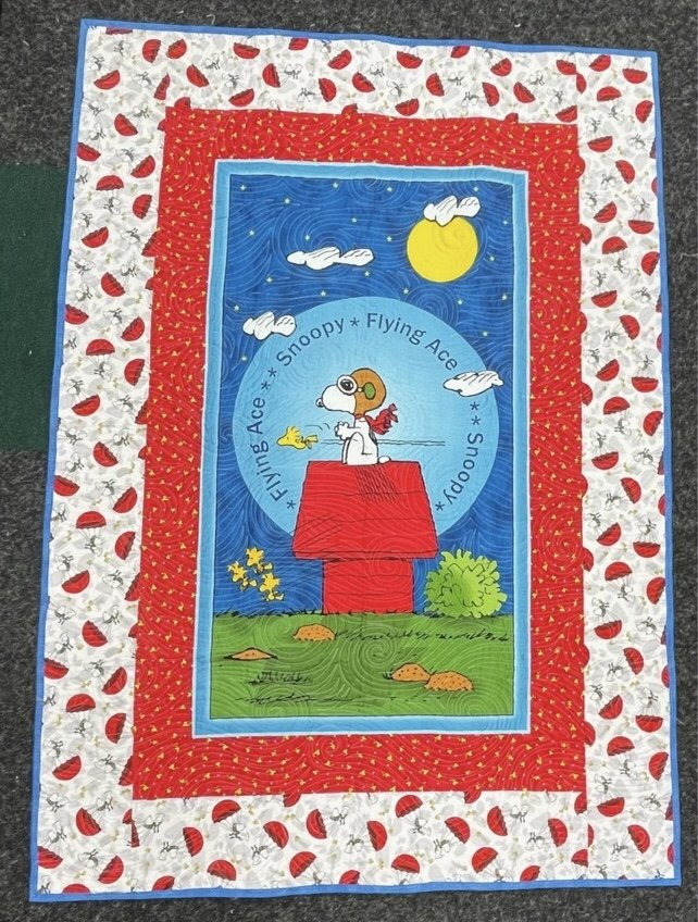 Snoopy Quilt 42 X 59
