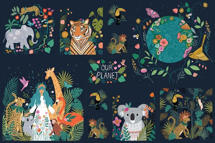 OUR PLANET BY BETHAN JANINE  Panel