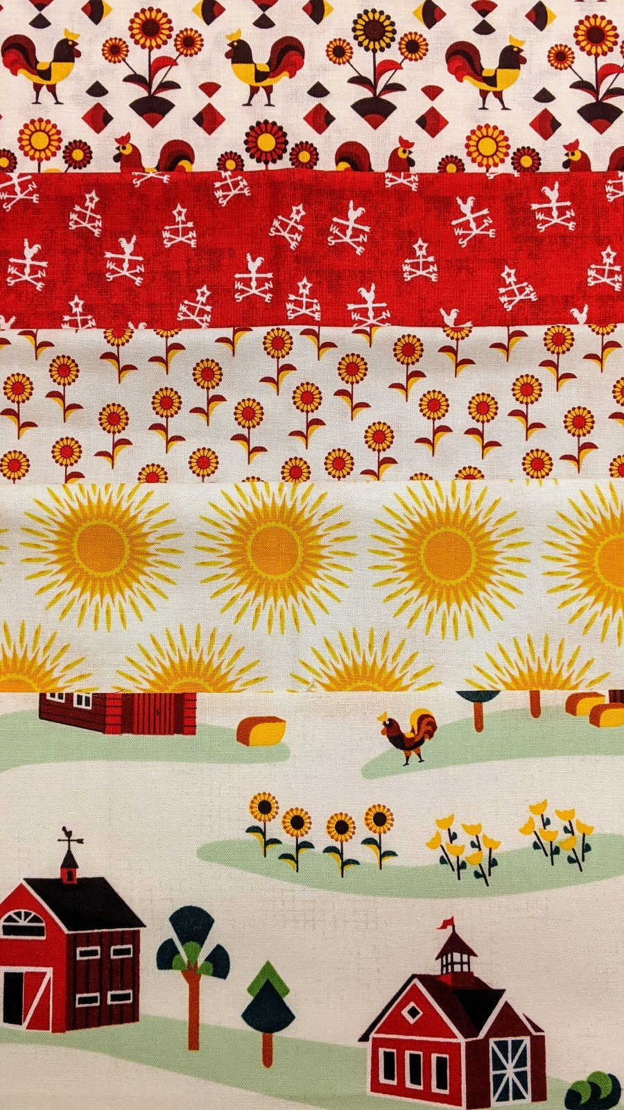 Bundle Lil' Bit Country 5 Half Yard Cuts