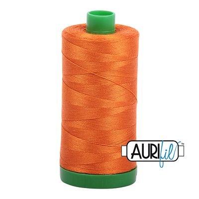 Aurifil 40wt 1000m Pumpkin 2150