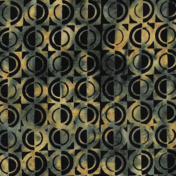 Gatsby Half Circle Black