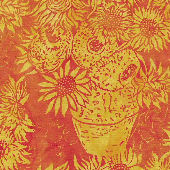 Summer Fields Vase Sunflowers Golden Sun