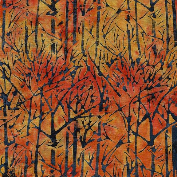 Vincent's Garden Trees Tangerine