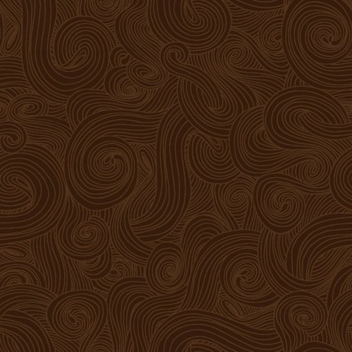 Just Color! Swirl Brown