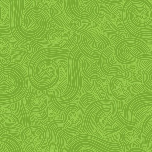 Just Color! Swirl Grass