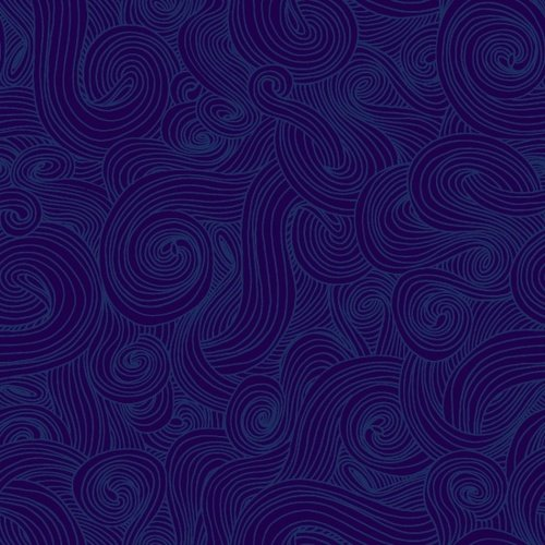 Just Color! Swirl Navy
