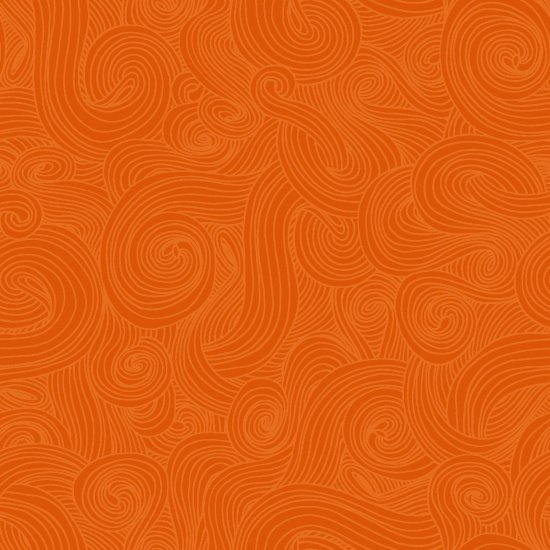 Just Color! Swirl Orange