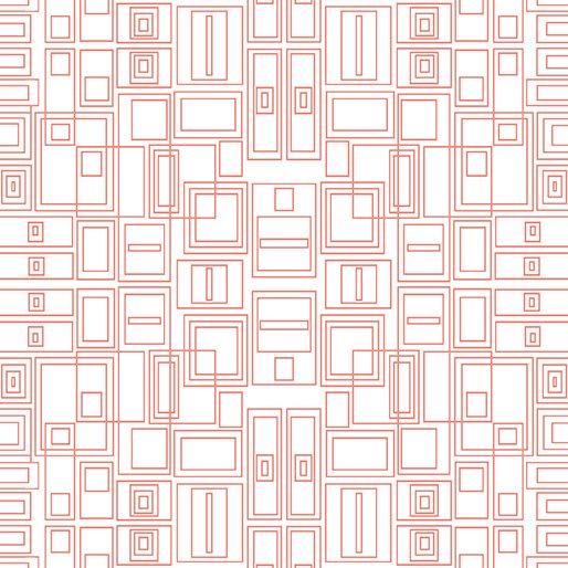 Good Vibes Circuit Board Coral