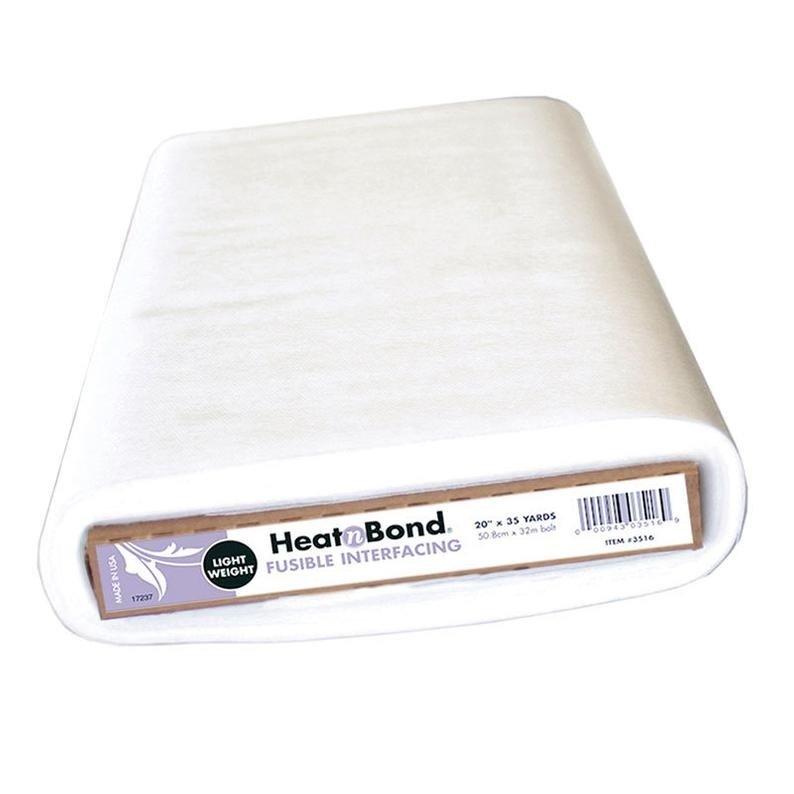 Heat N' Bond Non-Woven Light Weight Fusible Interfacing 20