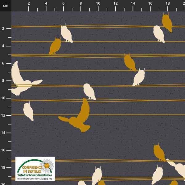 Birds Move Wire Smoke