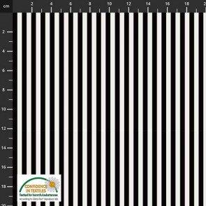 Essentials Mini Stripe Black