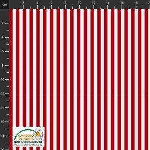 Essentials Mini Stripe Red