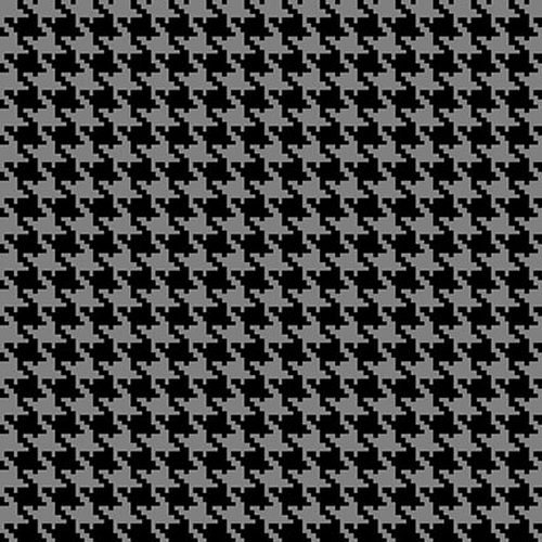 Mid Winter Song Houndstooth Black