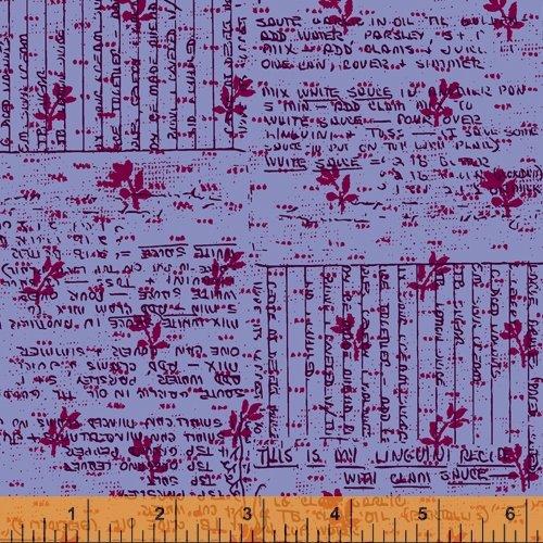 Norma Rose Recipe Cards Lavender
