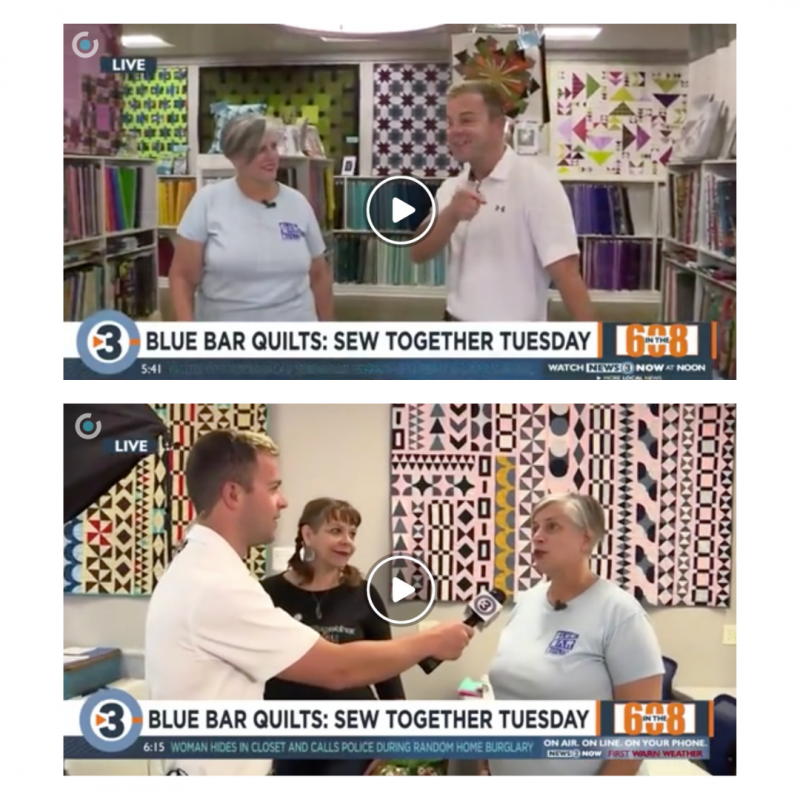 Blue Bar Quilts on Channel 3000's In the 608!