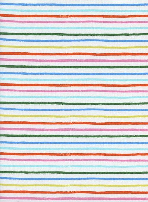 Amalfi Lawn Happy Stripes Cream