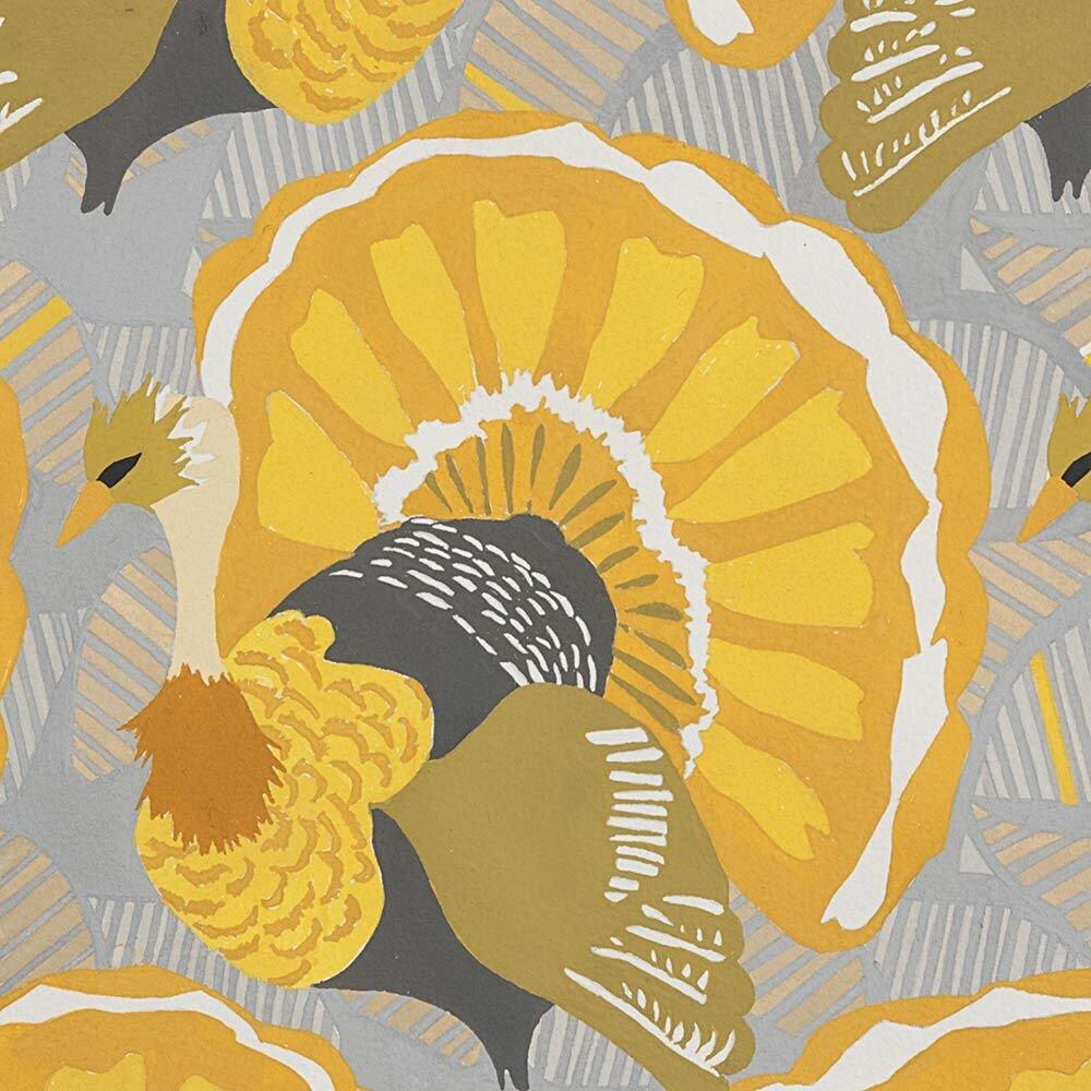 Turkey Day Grey/Gold