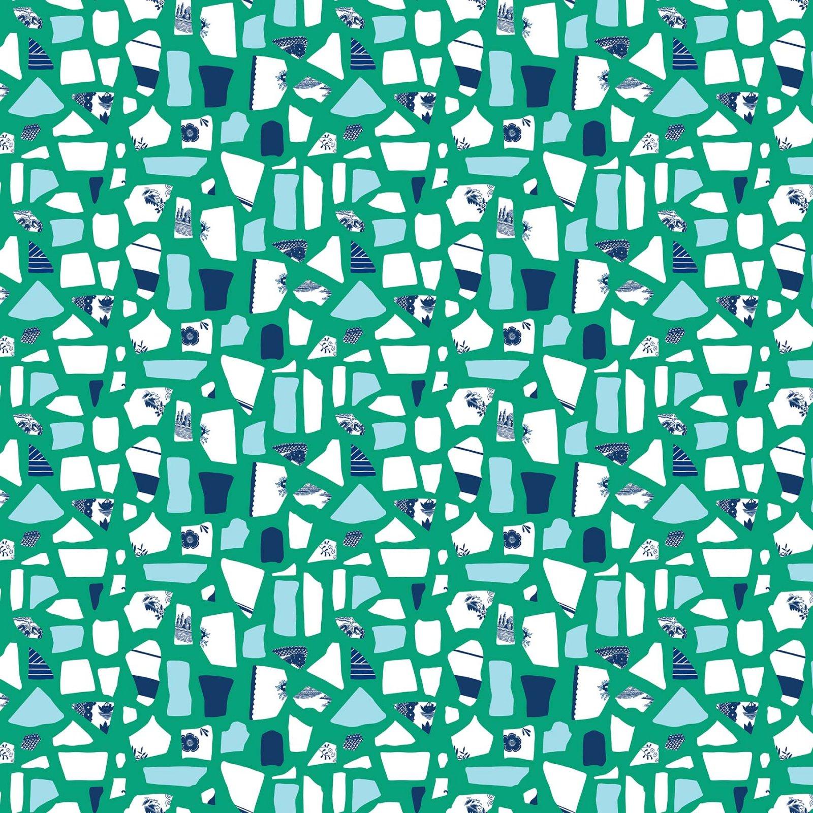 Salt Wind Mosaic Green