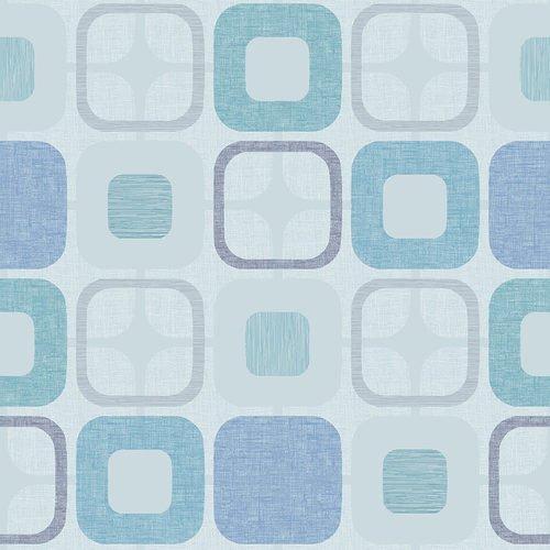 Geo-Squared 108 Light Blue