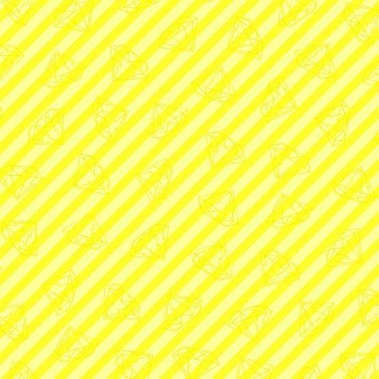 Tattooed Gem Stripe Yellow