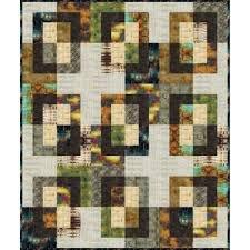 Abandoned Digital Hyde Park Quilt Panel 43x 53