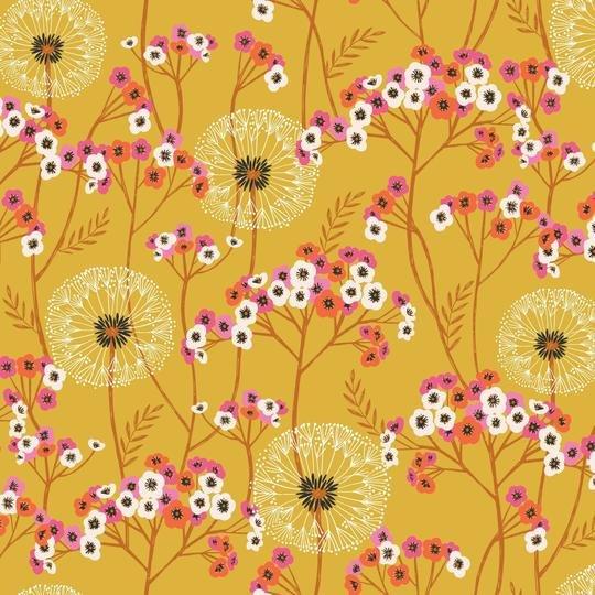 Aviary Wildflower Weeds Gold