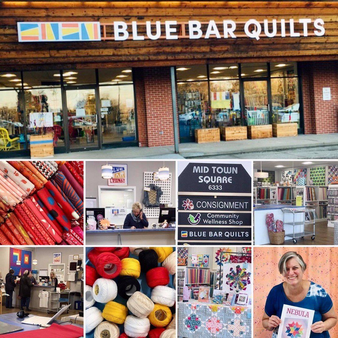 Blue Bar Quilts Shop Sept 2020