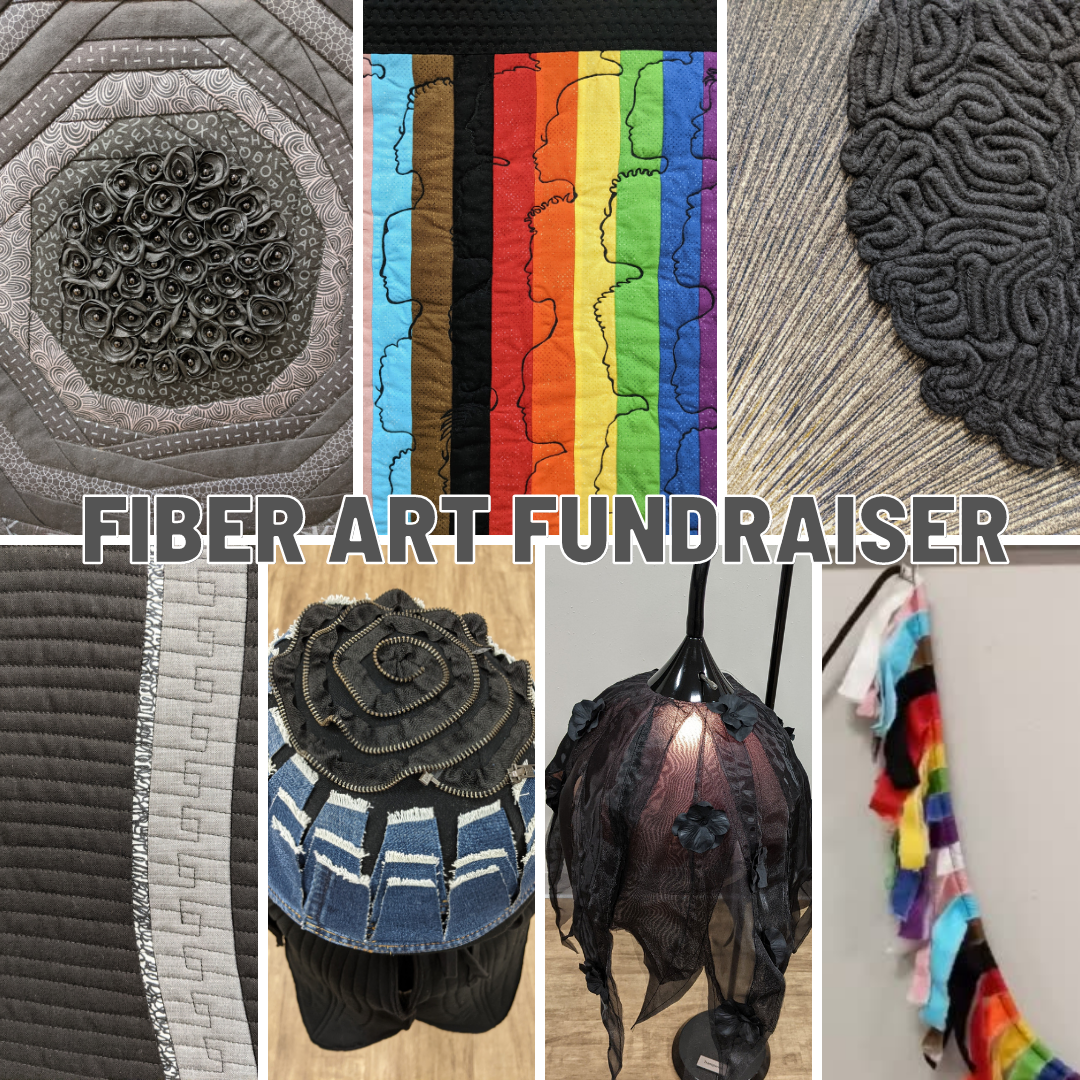 Fiber Art Fundraiser Gallery in support of BLM and LGBTQ+ causes