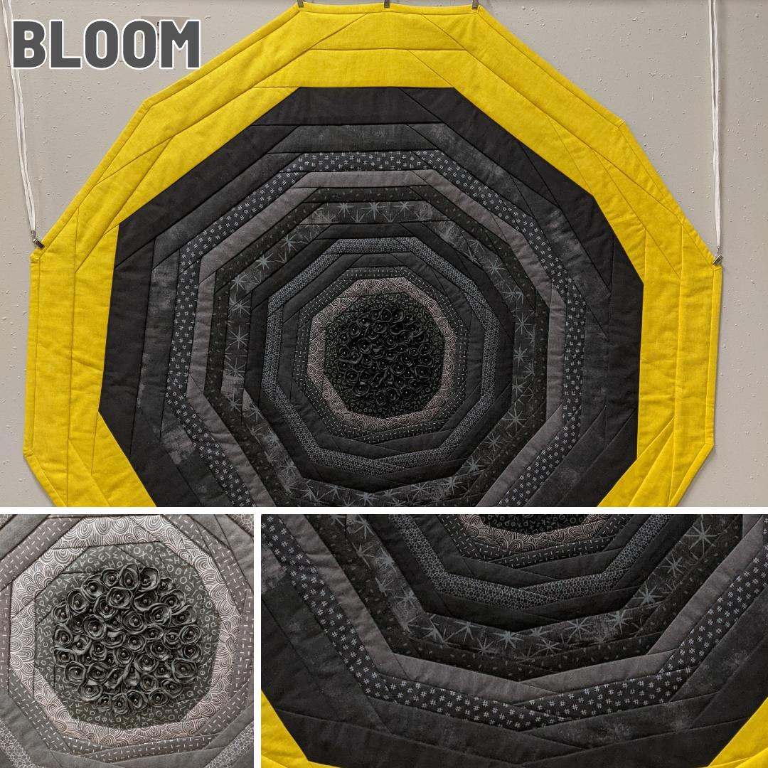 Fiber Art Fundraiser - Bloom