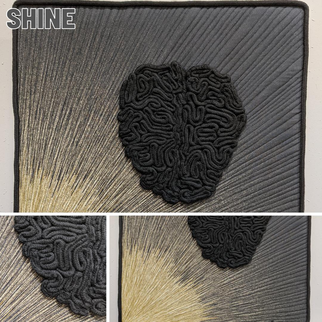 Fiber Art Fundraiser - Shine