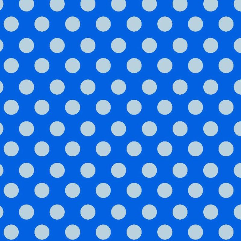 Fun Flannels 2 Dots Blue