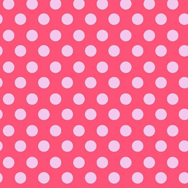 Fun Flannels 2 Dots Pink