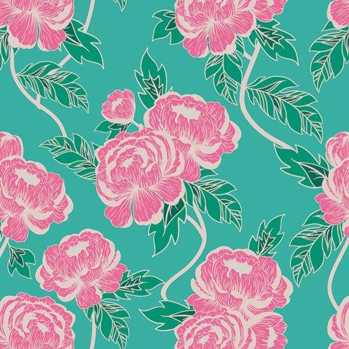 Flowerette Flourishing Peonies