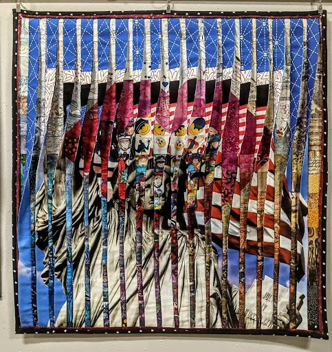 Kristine Moser Mend Challenge Quilt - It's Complicated