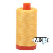 Aurifil 50wt 1300m Pale Yellow 1135