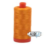 Aurifil 50wt 1300m Yellow Orange 2145